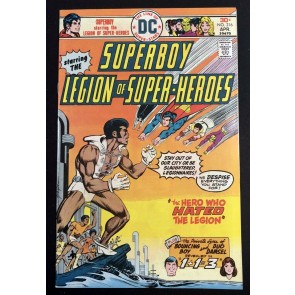 Superboy (1949) #216 VF- (7.5) starring Legion of Super-Heroes 1st app Tyroc