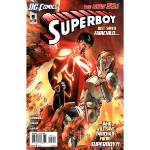 SUPERBOY (2011) #5 VF/NM THE NEW 52!