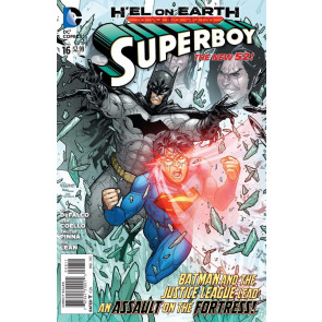 Superboy (2011) #16 VF/NM H'el on Earth Justice League & The Batman Appearance