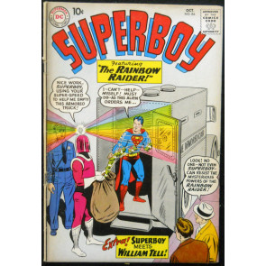 SUPERBOY #84 VG+