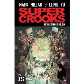 SUPERCROOKS (2012) #3 VG/FN - FN- MARK MILLAR LEINIL YU ICON