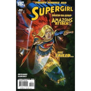SUPERGIRL (2005) #20 VF+