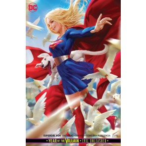Supergirl (2016) #34 VF/NM Derrick Chew Variant Cover DC Universe