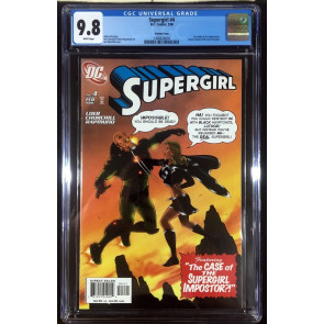 Supergirl (2005) #4 CGC 9.8 Ian Churchill variant cover (1400628004)