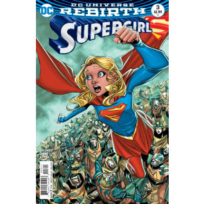 Supergirl (2016) #3 VF/NM Brian Ching Cover DC Universe Rebirth