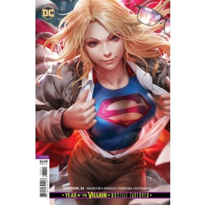 Supergirl (2016) #36 VF/NM Derrick Chew Variant Cover