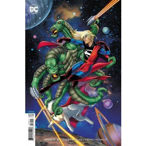 Supergirl (2016) #30 VF/NM Amanda Conner Variant Cover DC Universe