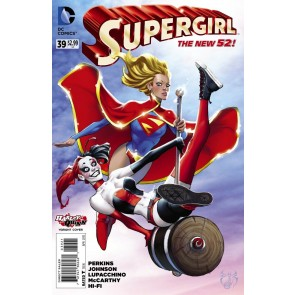 Supergirl (2011) #39 VF/NM-NM Harley Quinn Variant Cover The New 52!