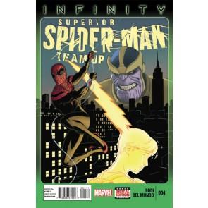 SUPERIOR SPIDER-MAN TEAM-UP #4 VF+ - VF/NM INFINITY MARVEL NOW!