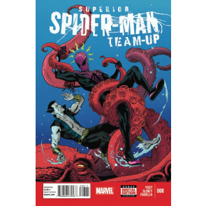 SUPERIOR SPIDER-MAN TEAM-UP #8 FN/VF MARVEL NOW!
