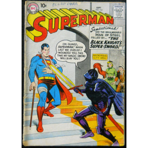 SUPERMAN #124 GD/VG