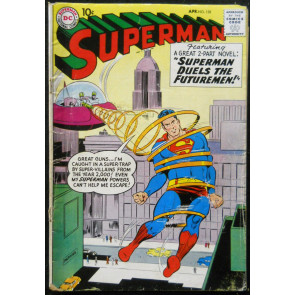 SUPERMAN #128 GD/VG RED KRYPTONITE USED BRUCE WAYNE X-OVER