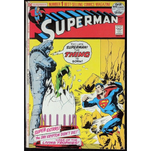 Superman (1939) #251 FN/VF (7.0) Neal Adams cover 52 page giant