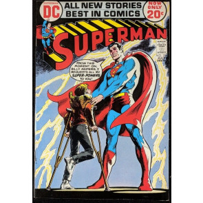 Superman (1939) #254 VF (8.0) Neal Adams cover