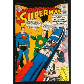 Superman (1939) #170 FN+ (6.5) the delayed President Kennedy issue published