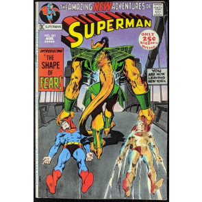 Superman (1939) #241 VF- (7.5) Neal Adams cover 52 page giant