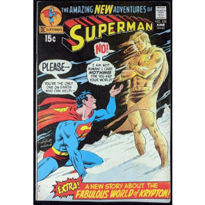 Superman (1939) #238 FN (6.0) Neal Adams cover