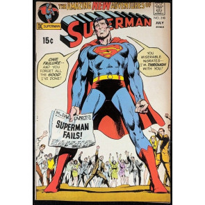 Superman (1939) #240 VF- (7.5) Neal Adams cover Mike Kaluta art