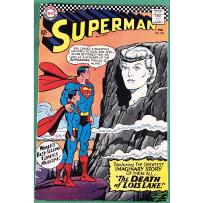Superman (1939) #194 FN/VF (7.0) Death of Lois Lane imaginary story