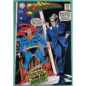 Superman (1939) #209 FN (6.0)