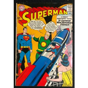 Superman (1939) #170 VG+ (4.5) Delayed President Kennedy issue published