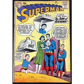 Superman (1939) #140 GD (2.0) 1st Blue Kryptonite & 1st Bizarro Supergirl