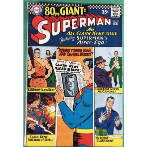 Superman (1939) #197 FN+ (6.5) 80 page giant (G-36)