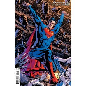 Superman (2018) #21 VF/NM Bryan Hitch Variant Cover