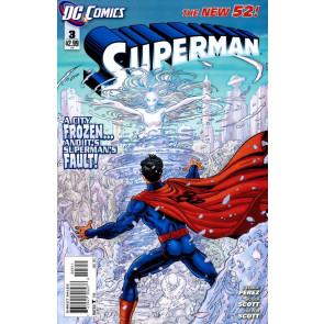 Superman (2011) #3 VF/NM 1st Printing The New 52!