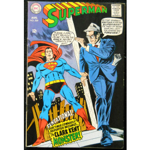SUPERMAN #208 VF