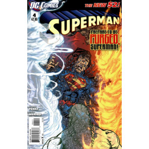 Superman (2011) #4 VF/NM 1st Printing The New 52!