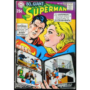 SUPERMAN #212 VG GIANT G-31
