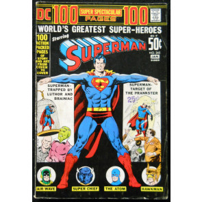 SUPERMAN #245 VG+ DC 100 PG SPECTACULAR #7