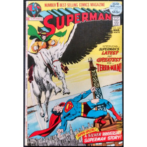 SUPERMAN #249 VF/NM 52 PAGE GIANT NEAL ADAMS COVER