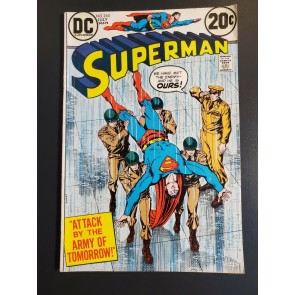 Superman #265 (1973) VG/F (5.0) Nick Cardy, Curt Swan Murphy Andersen|
