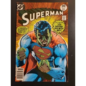 Superman #317 (1977) F (6.0) Classic Neal Adams Kryptonite Cover |