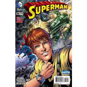 SUPERMAN #34 VF/NM SELFIE VARIANT COVER THE NEW 52!