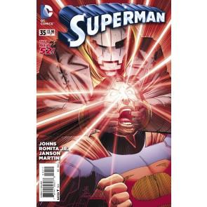 SUPERMAN #35 VF/NM JOHN ROMITA JR THE NEW 52!