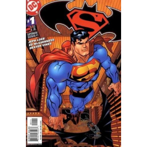 SUPERMAN BATMAN #1 NM JEPH LOEB ED MCGUINNESS SUPERMAN COVER