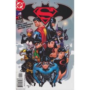 SUPERMAN BATMAN #5 NM JEPH LOEB ED MCGUINNESS