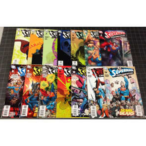 SUPERMAN CONFIDENTIAL #1 2 3 4 5 6 7 8 9 10 11 12 13 14 COMPLETE SET COOKE SALE