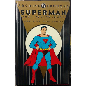 Superman DC Archive Hardcover Volume 2 OOP Unshrinkwrapped