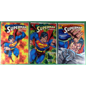 Superman Doomsday Hunter/Prey (1994) 1 2 3 NM (9.4) complete set