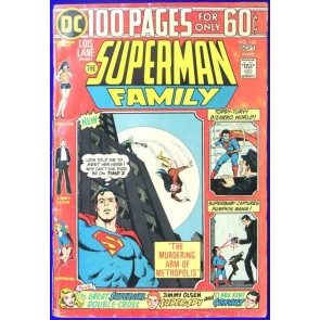 SUPERMAN FAMILY #166 VG- 100 PAGE SPECTACULAR SUPERGIRL