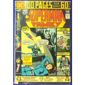 SUPERMAN FAMILY #169 FN- 100 PAGE SPECTACULAR SUPERGIRL