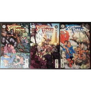 Superman Tarzan (2001) 1 2 3 VF/NM (9.0) DC Dark Horse Elseworld Chuck Dixon