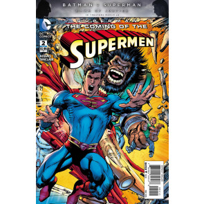 SUPERMAN: THE COMING OF THE SUPERMEN (2016) #2 OF 6 VF/NM NEAL ADAMS