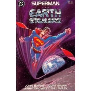 SUPERMAN: THE EARTH STEALERS JOHN BYRNE CURT SWAN NM