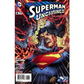 SUPERMAN UNCHAINED (2013) #6 VF/NM THE NEW 52!