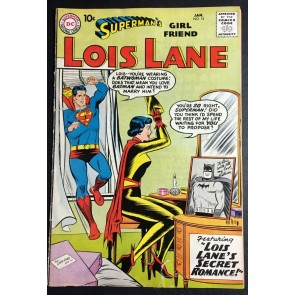 Superman's Girlfriend Lois Lane (1958) #14 VG- Lois Lane  as Batwoman Batman app